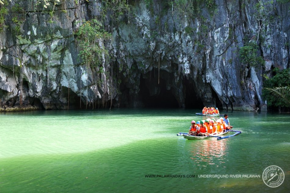 Underground river tour entrance palawan days