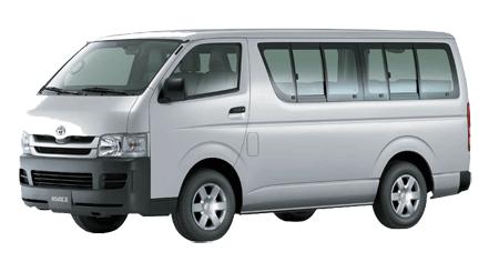 Toyota-Hiace manila - taal