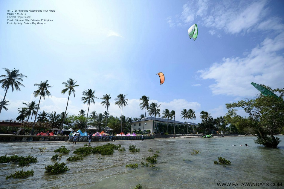 kite in palawan philippines