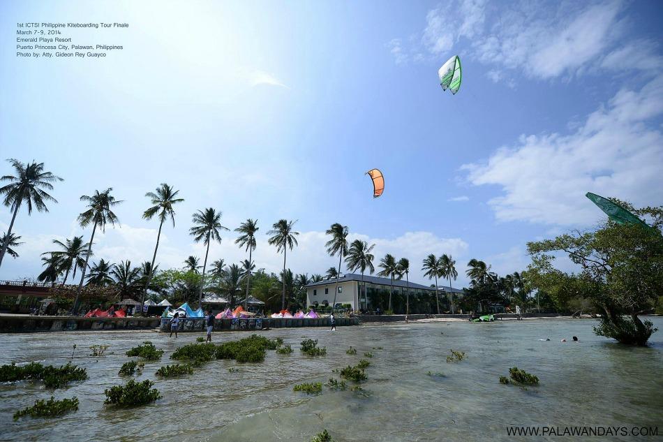 kite in palawan philippines