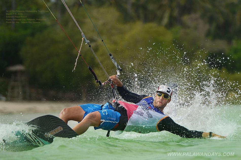 kiteboard in palawan philippines puerto princesa