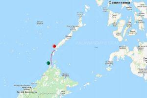 Bataraza Palawan to Kudat Malaysia