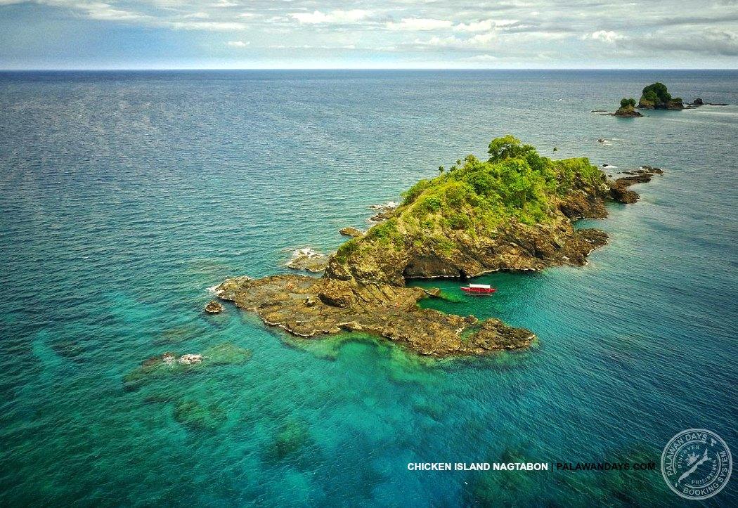CHICKEN ISLAND NAGTABON PUERTO PRINCESA PALAWAN