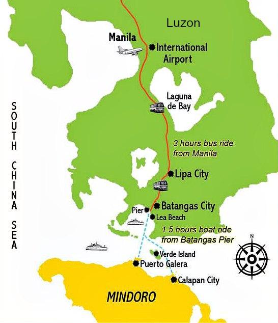 Manila to Puerto-Galera