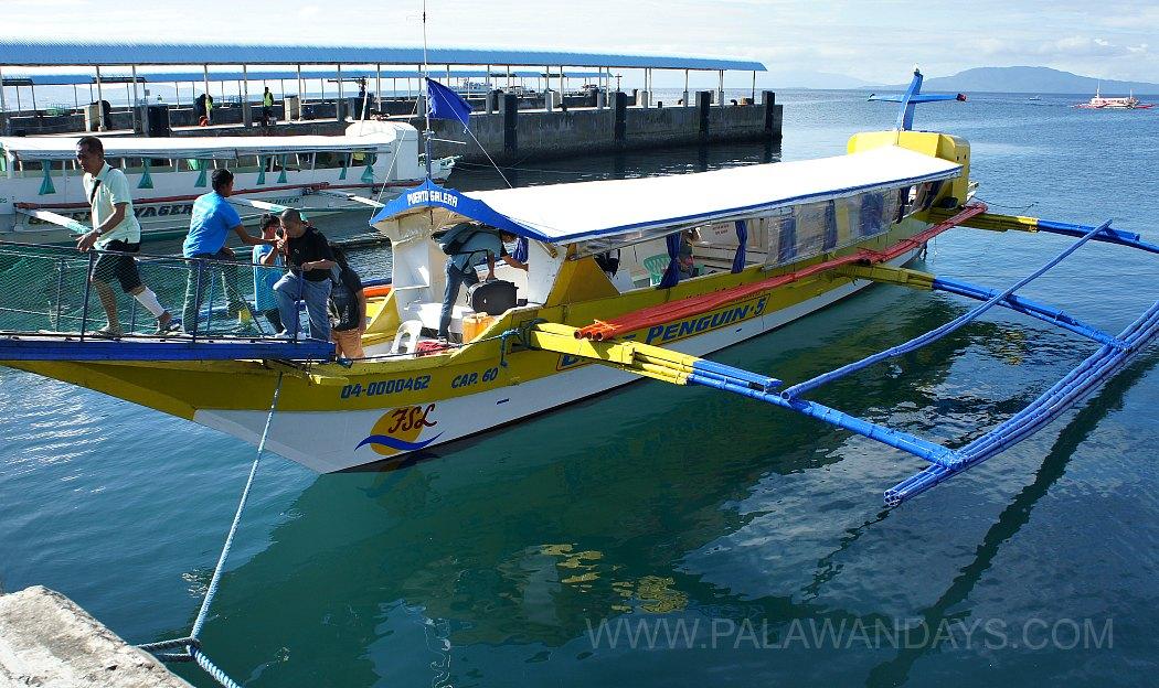 Puerto Galera - Batangas boat