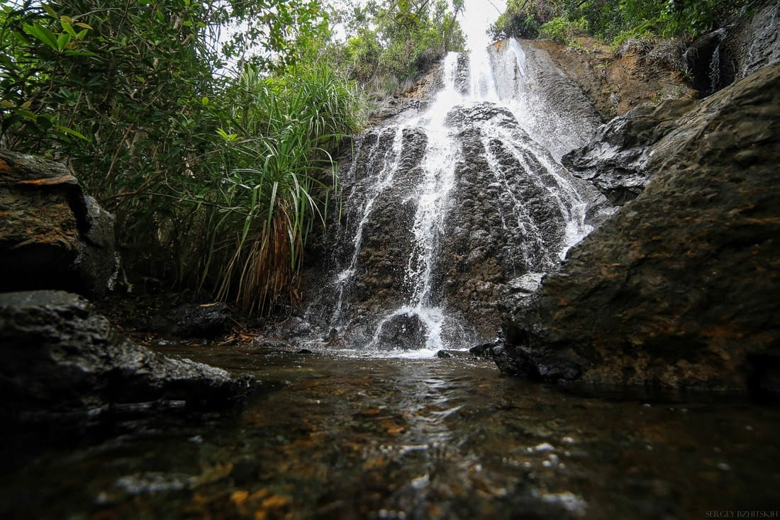 Водопад в Сабанге
