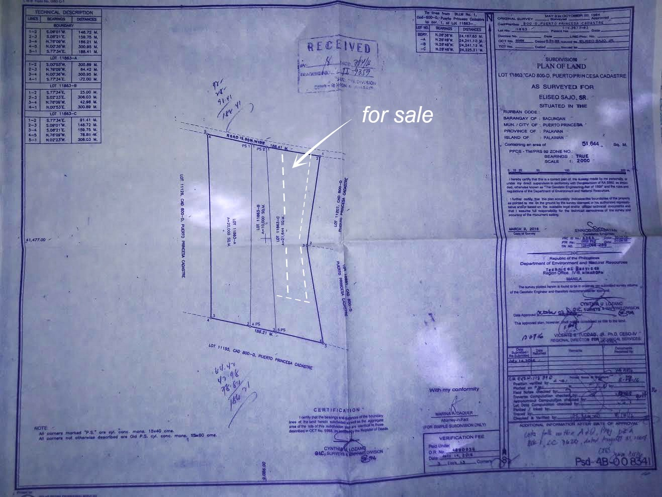 lot for sale nagtabon