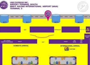 ube express locations terminal-3