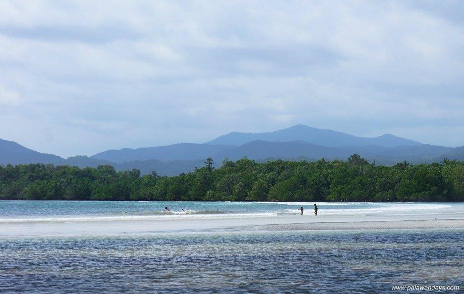 Белый пляж Пуэрто Принцеса Палаван