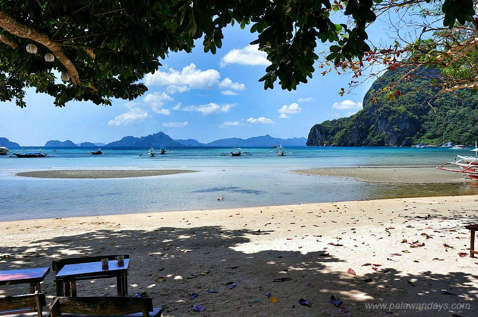 Corong Corong beach El Nido