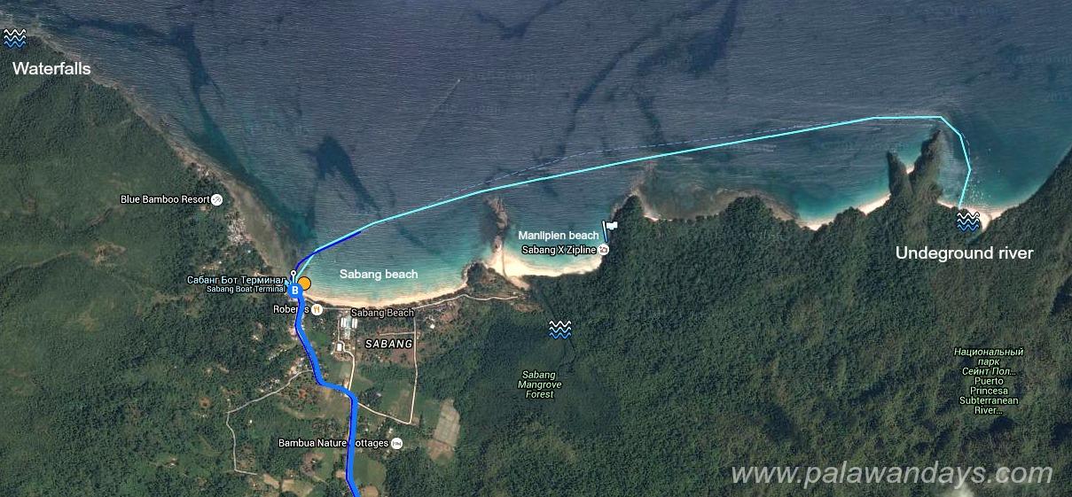 Sabang map