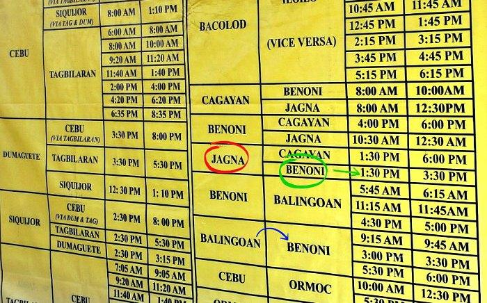 Jagna Bohol - benoni Camiguin 1