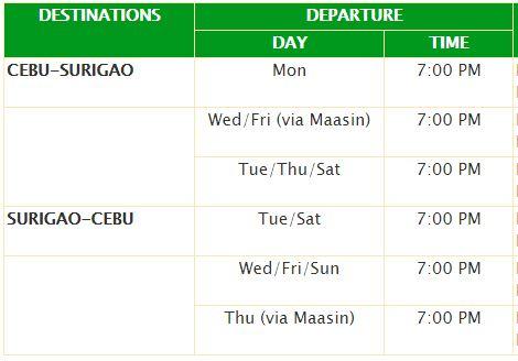 Cebu - Surigao (2)